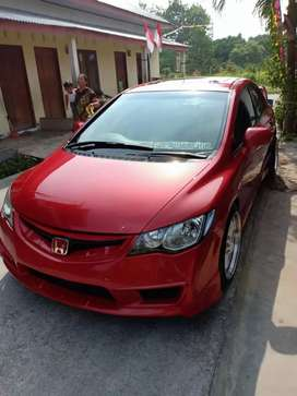 Honda civic 1.8 tahun 2008 semi modif