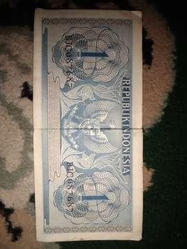 Uang 1 rupiah tahun 1954