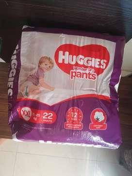 3 packs of Huggies XXL Wonder Dry Pants