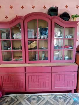 Large size divider with cupboards and draws (urgent sale)