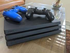 PS4 PRO . 2 YEAR USED. GOOD CONDITION. NO SCRATCHES