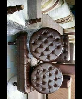 Puffy ottoman 4 seater .  Color choice available.5 year foam warranty