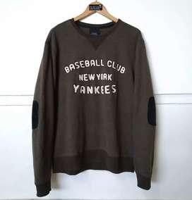 MLB Yankees Baseball Club Crewneck Original