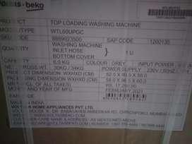 New packed Voltas Washing Machine
