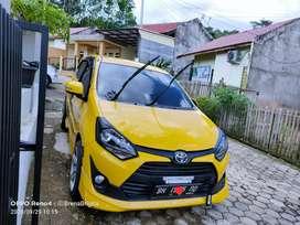 Toyota Agya TRD 1.2 M/T thn 2017 BH