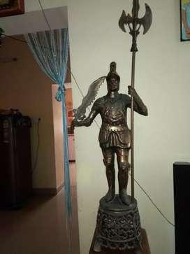 Copper antique statue