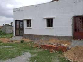 1100 sq construction house for sale near Shoolagiri