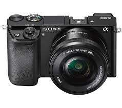 Kredit SONY A6000 Kit ILCE 6000L + 16-50MM Kamera Mirrorless - Black
