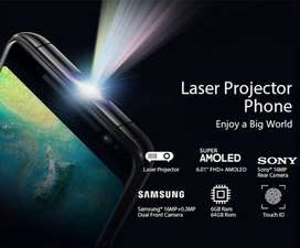 Black view max 1 mobile projector phone