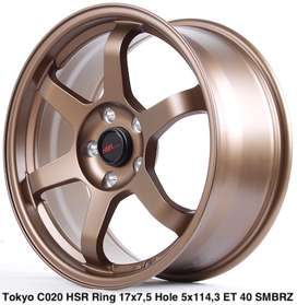 velg hsr ring 17 di golden gate