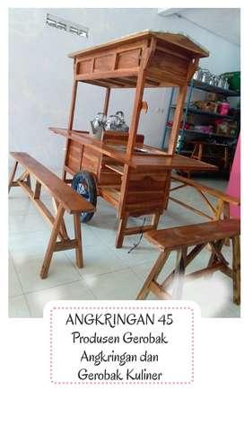 FREE ONGKIR, Gerobak Angkringan, Bayat, Terpopuler  G0457