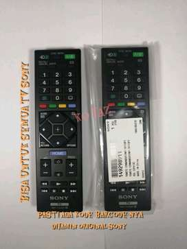 remote tv LED LCD Sony real original 100%
