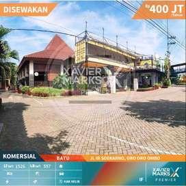 Disewakan Bangunan Komersial Jln Ir Soeakrno Batu Sebelah Jatim Park 3