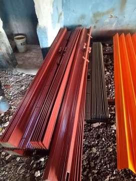 Jual dan pasang folding gate bagus harmonika rolling door