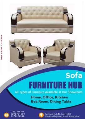 Brand New 3+1+1 sofa set