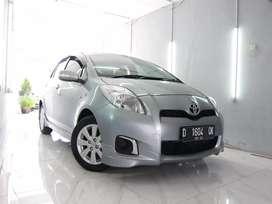 Toyota Yaris E AT 2012 Silver