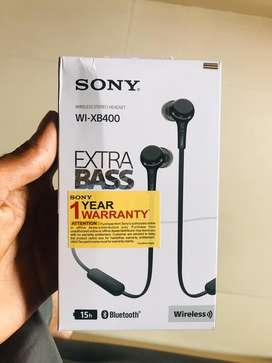 Sony Bluetooth Headset With Extra Bass