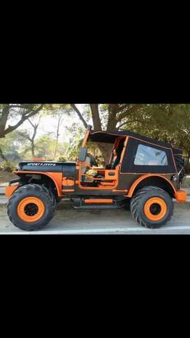 Sports Modifed turbo jeep