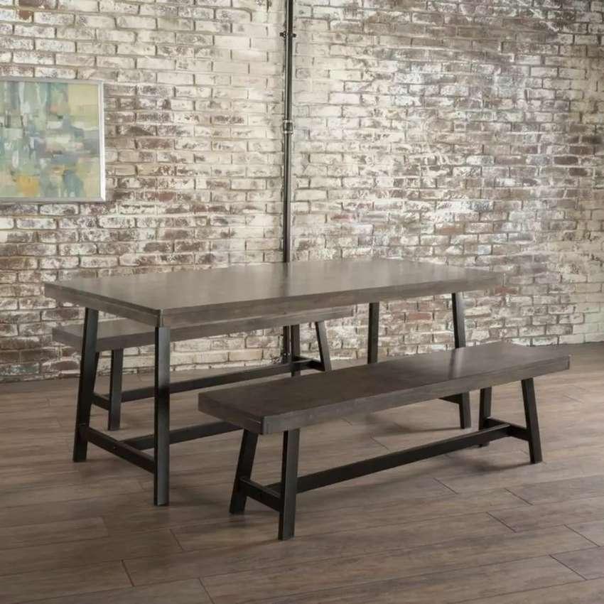 set meja kursi- meja makan- meja kursi taman- meja baca 0