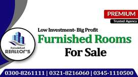 Furnished Room For Sale Invest 32 Lac And Get Yearly Income Of 3 Lac.