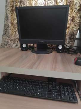 Personal computer with table . negotiable