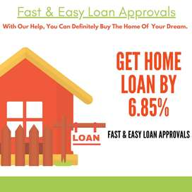 Home Loan Start With 6.9 %, With Low Processing Cost