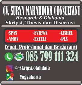 Bantuan Olahdata dan proposal Skripsi dan Tesis