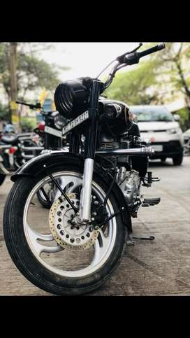 Royal enfield 2016 standard  with alloy and other modification