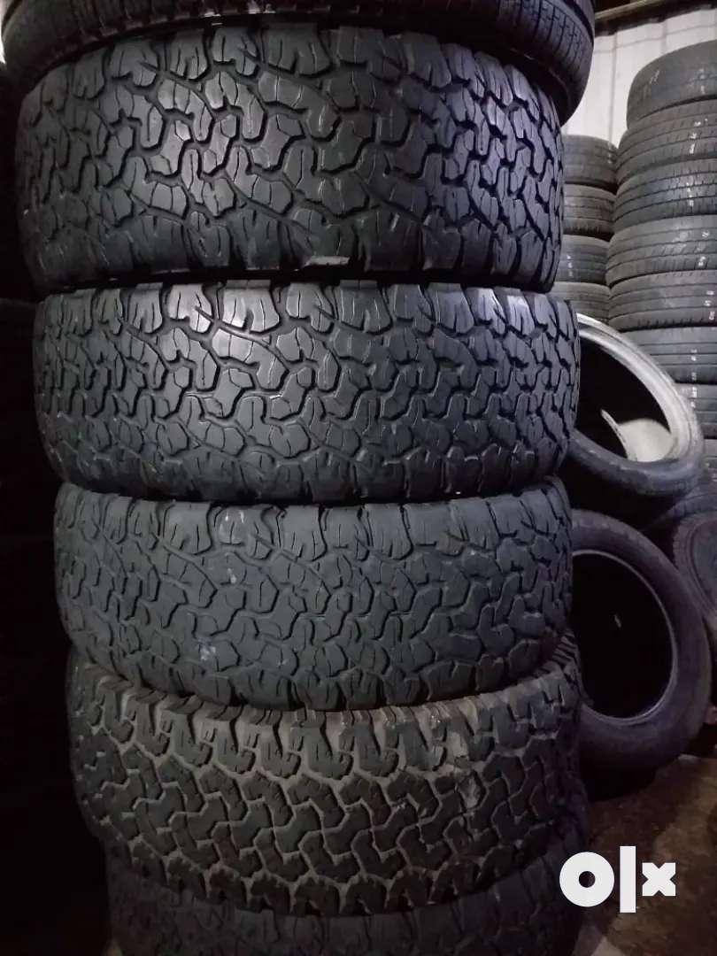 Used imported tyres 265 65 R17 0