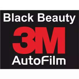Pasang kaca film 3 M Black beauty pasti ori garansi resmi