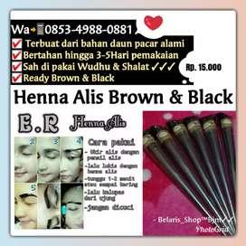 Henna Alis Brown/Black