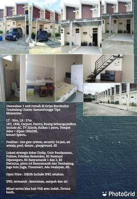 Rumah Tipe Mezzanine Siap Huni Dekat Universitas Diponegoro