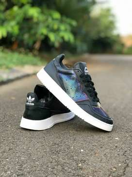 Adidas SuperCourt Black Rainbow