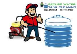 secure water tank cleaning services, karachi water tank cleaning