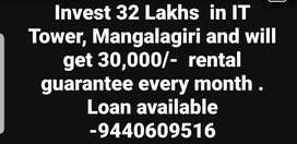 Commercial space selling at Mangalagiri high way