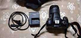 Canon 1300d with 18.55mm lens