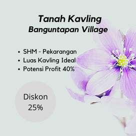 Ambil Sekarang ! POTONGAN HARGA 25% Tanah Banguntapan Dekat RS Rajawal