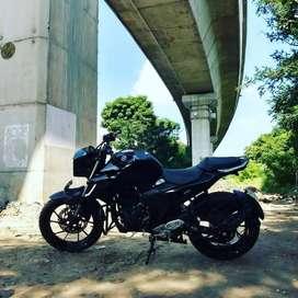 Modified Yamaha FZ25