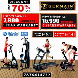 "Motorised TREADMILLs 7,990 onward 1 YEAR WARRANTY 20 Models ""The secre"