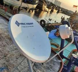 Antena Parabola free instalasi
