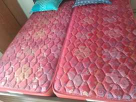 King size bed double mattress