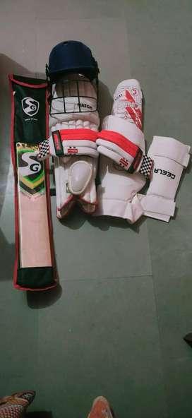 SG full cricket kit (batsmen)
