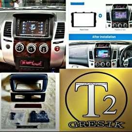 AUDIO MOBIL 2DIN 7INC FOR PAJERO HARGA GROSIR T2GRESIK free pemasangan