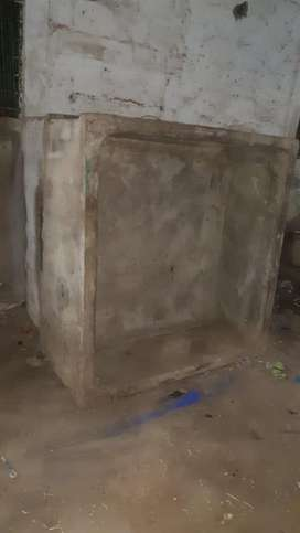 Cement Water tanks size 6X6 height 2.5ft Quantity Available 6