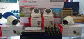 Paket Murah CCTV Hikvision All 4 Ch 2 MP