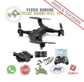 Visuo Battle Shark Quadcopter Drone WiFi Camera
