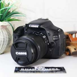 canon eos 600D + 18-55mm IS
