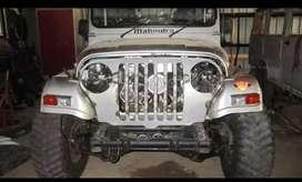Mahindra modified willy jeep