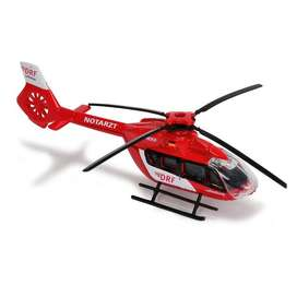 Majorette Helicopter Eurocopter EC 145 - red white