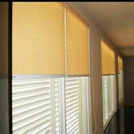 Gorden roller blind desain jendela yang punya gaya
